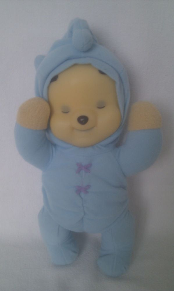 Adorable Musical Baby Lullaby Glow Face Pooh Bear Bedtime